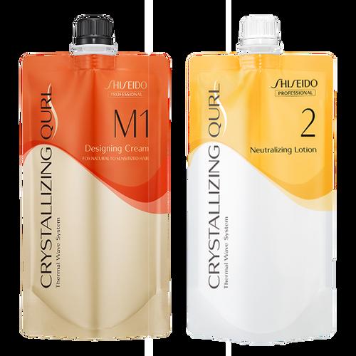Shiseido Professional Crystallizing Qurl, M1 + Neutralizing Lotion