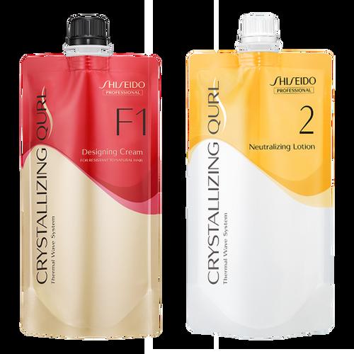 Shiseido Professional Crystallizing Qurl, F1 + Neutralizing Lotion