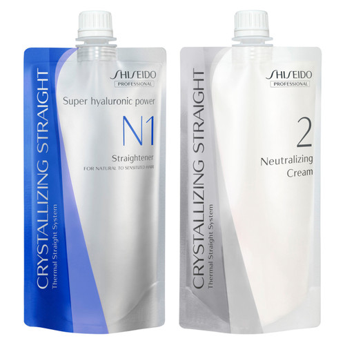 Shiseido Professional Crystallizing Straightener & Neutralizer N1+N2