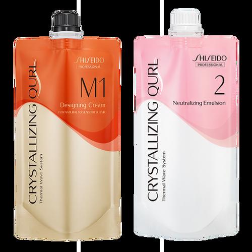 Shiseido Professional Crystallizing Qurl, M1 + Neutralizing Emulsion