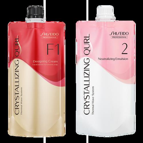 Shiseido Professional Crystallizing Qurl, F1 + Neutralizing Emulsion