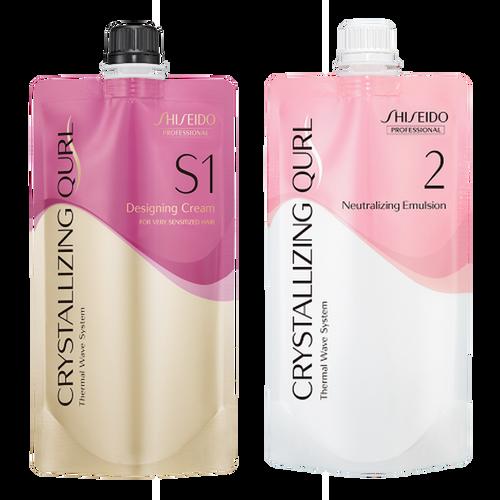 Shiseido Professional Crystallizing Qurl, S1 + Neutralizing Emulsion
