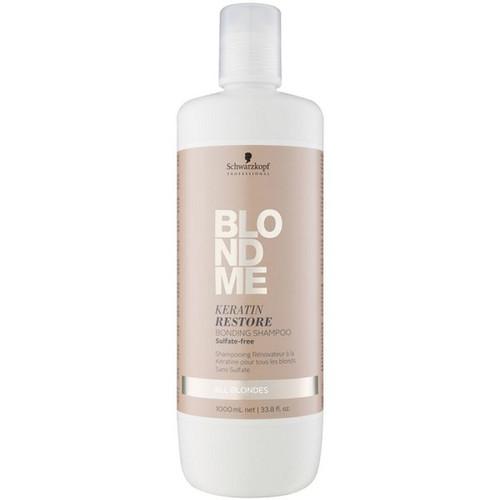 BLONDME Keratin Restore Bonding Shampoo, 1000ml