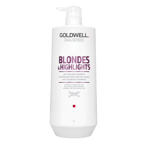 Dualsenses Blonde & Highlights Anti-Yellow Shampoo, 1L