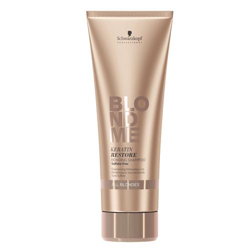 BLONDME Keratin Restore Bonding Shampoo, 250ml