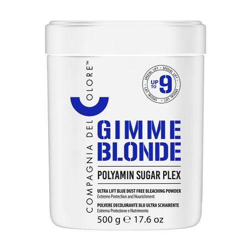 GIMME BLONDE Ultra Lift Blue Dust Free Bleaching Powder