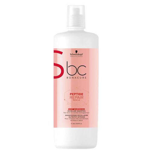 BC BONACURE Peptide Repair Rescue Deep Nourishing Micellar Shampoo 1L