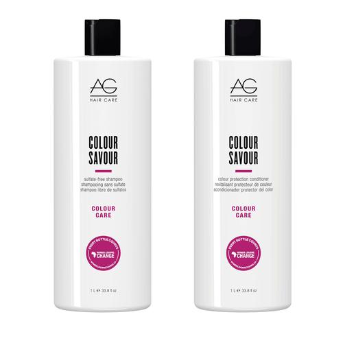 Colour Savour Shampoo & Conditioner Duo, 1L