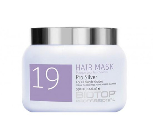 19 Pro Silver Hair Mask