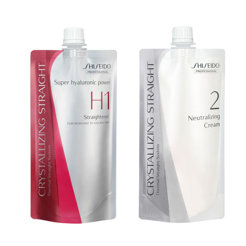 Shiseido Professional Crystallizing Straightener & Neutralizer  H1+H2