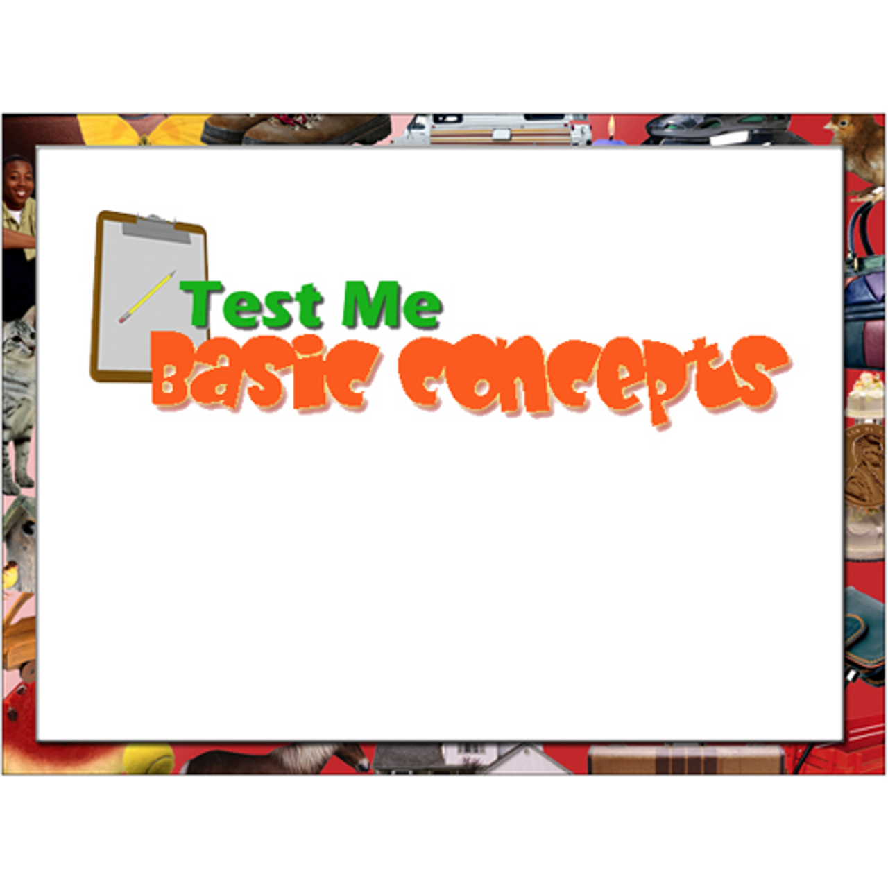Test Me - Basic Concepts