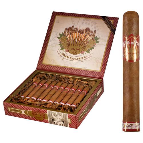 Isla Del Sol Gran Corona 5 X 44 Box of 20 CIgars