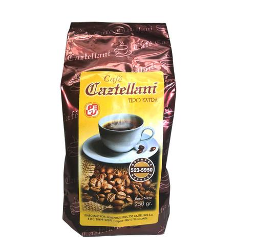 PERUVIAN ORGANIC CAZTELLANI COFFEE GROUND Pack of 9 Oz
