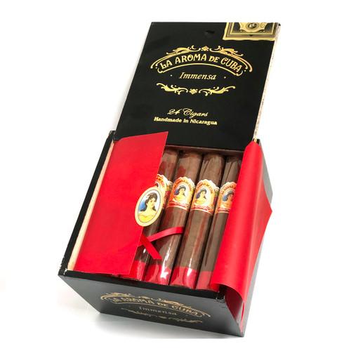 La Aroma de Cuba Inmensa 5 1/2 X 60. Box of 24