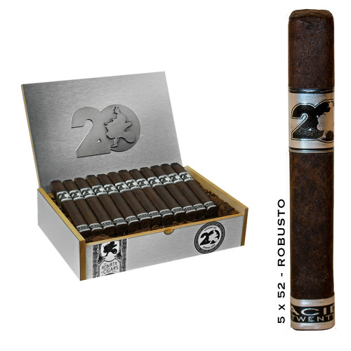 Acid 20 - Robusto Maduro - 5 X 50 - Box of 24 Cigars