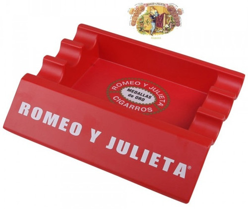 Indoor and Outdoor Large ROMEO Y JULIETA Ashtray for Cigars