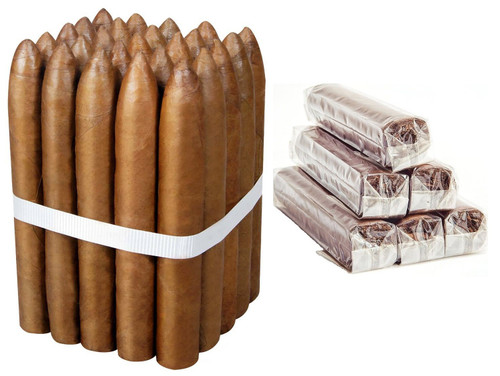 Medina 1959 Miami TORPEDO CELLOPHANE Habano Fresh From Rollers Table 6 1/2 X 52 Bundle of 25