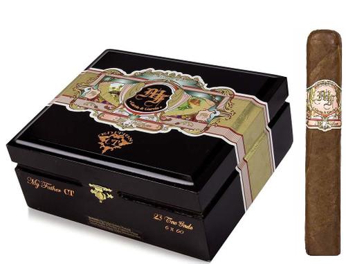 My Father Connecticut TORO GORDO 6 X 60 Box of 23 Cigars