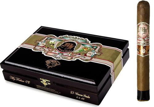 My Father Connecticut CORONA GORDA 6 X 48 Box of 23 Cigars