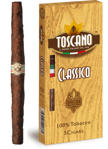 Toscano CLASSICO 6 X 38 Pack of 5