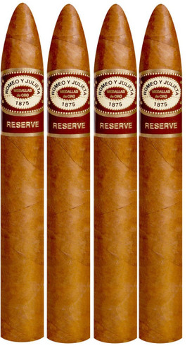 Romeo Y Julieta Reserve BELICOSO Cigar 52 X 6 1/8 Pack of 4