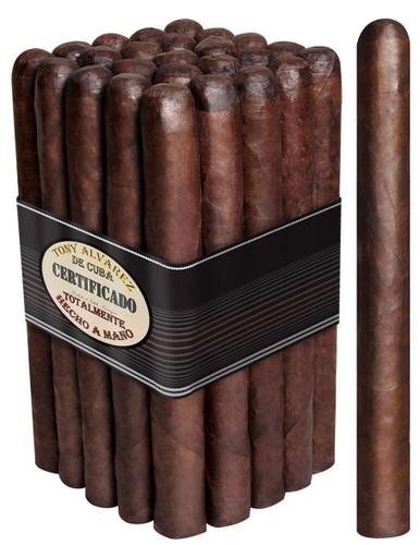 Tony Alvarez Maduro LONG BULL 8 X 52 Bundle of 25 Cigars