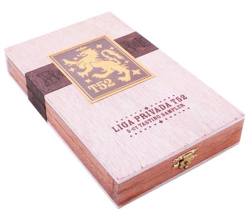 Liga Privada T52 TASTING SAMPLER Box of 5 Cigars