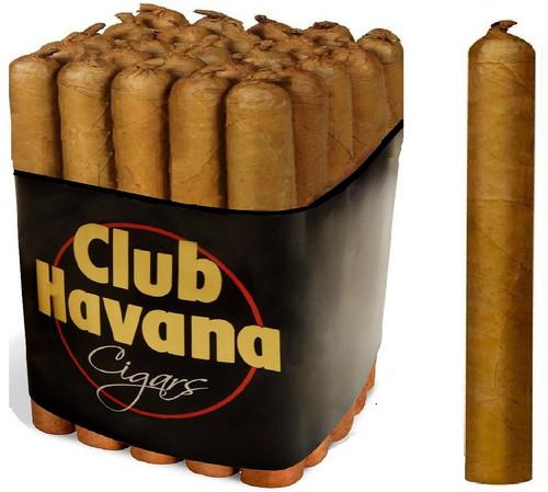 Club Havana ROBUSTO TAIL Cigars 5½ x 50 Bundle of 25 Cigars