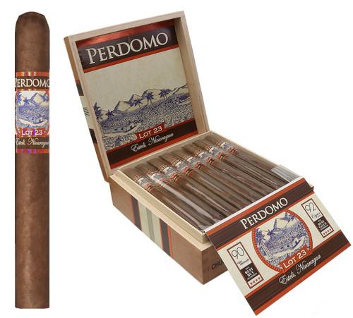 Perdomo LOT 23 Natural Sun Grown CHURCHILL 7 X 50 Box of 24 Cigars