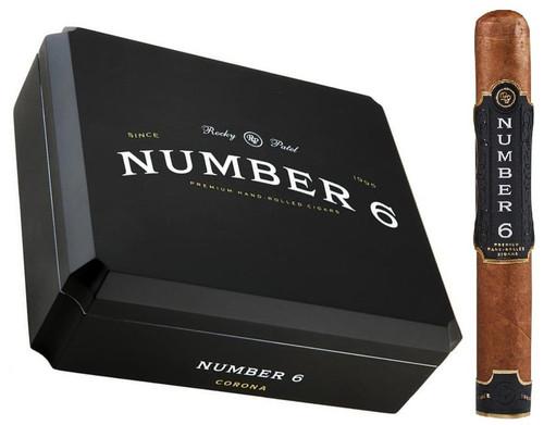 Rocky Patel Number 6 Corona 6 x 44 box of 20 cigars