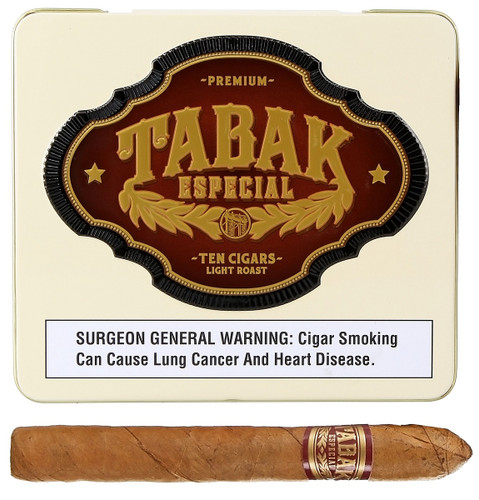 Tabak Especial CAFECITA DULCE 4 X 32 Tin of 10