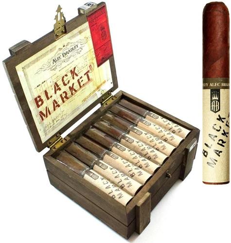 Alec Bradley Black Market  Maduro GORDO 6 X 60 Box of 22 Cigars