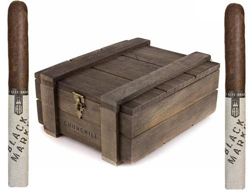 Alec Bradley Black Market  Maduro CHURCHILL 7 X 50 Box of 22 Cigars