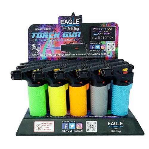 "Eagle Torch Gun Neon 4"" Glow In The Dark Limited Edition"