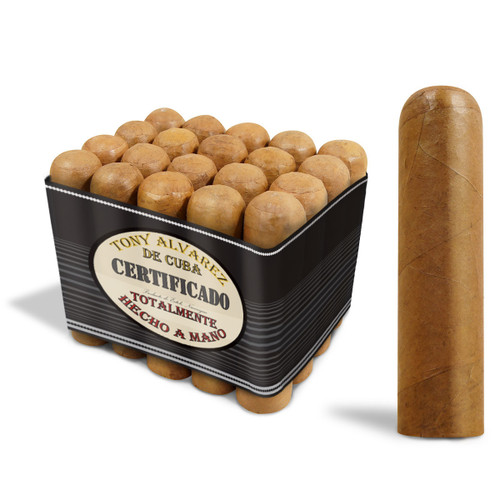 Tony Alvarez CORTINA Cigars Mild Connecticut Shade Wrapper 4 X 64 Bundle of 25