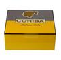 Cigar Humidor Cuban Cohiba for 50 Cigars + Ashtray & Cutter