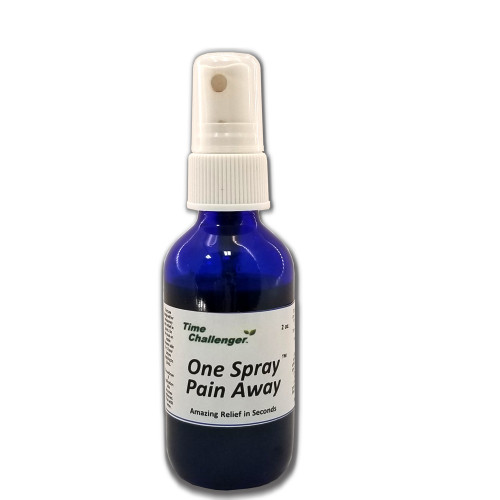 Apply One Spray Pain Away to sore joints for a noticeable adjustment in the level of pain. Created from an exciting blend of pain fighting organic herbs, this product is not known to contraindicate with any known medicine.
