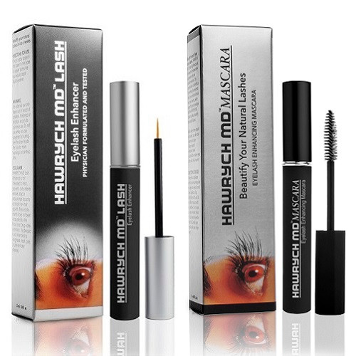 hawrych md eyelash serum eyelash enhancing mascara