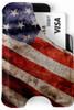 Minimalist Wallet - American Flag Vintage M1