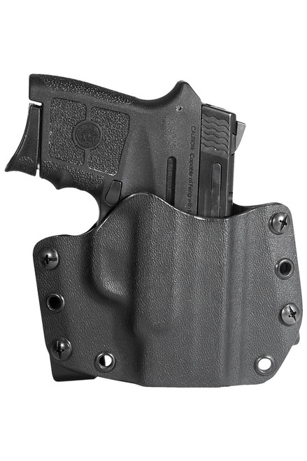 Smith & Wesson Bodyguard .380 ACP with Laser - OWB Holster