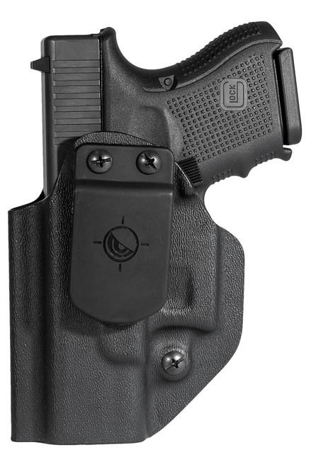 Glock 26/27/33  - Ambidextrous Appendix IWB/OWB Holster
