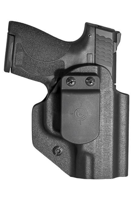 Smith & Wesson M&P Shield Plus, Shield 1.0, 2.0, 9mm/40 Cal - Ambidextrous Appendix IWB/OWB Holster