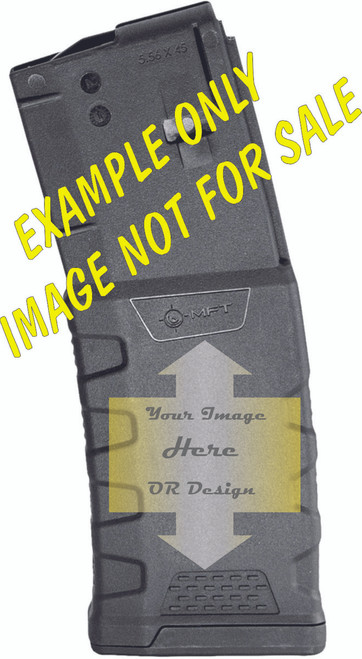 Graphic Custom Extreme Duty Polymer Mag