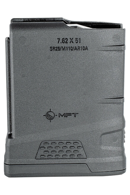 10 RD Extreme Duty Polymer Mag 7.62 x 51 NATO