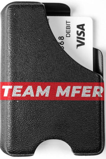 Minimalist Wallet - Team MF'ER Supreme
