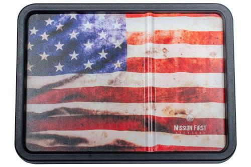 American Flag Vintage Dump Tray