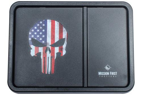 American Flag Punisher Skull Dump Tray