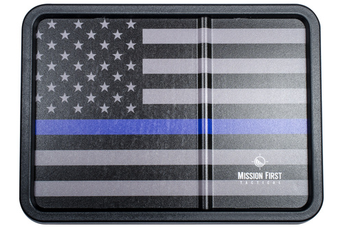 Blue Line American Flag Dump Tray