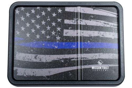 Blue Line American Vintage Flag Dump Tray