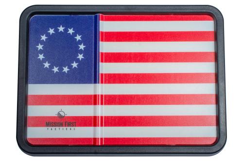 Betsy Ross Flag Dump Tray